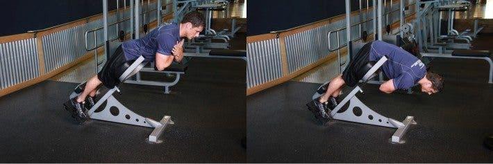 ejercicios espalda baja