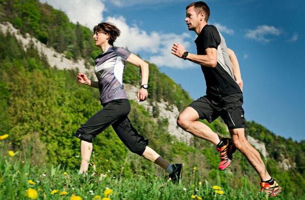 Corriendo pulsometro
