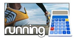 calculadora running