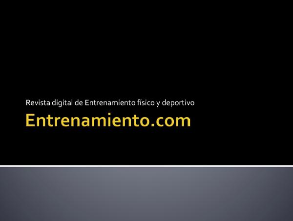 Powerpoint Entrenamiento
