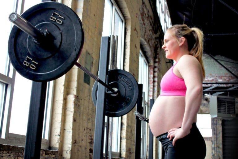 entrenamiento ejercicio embarazo
