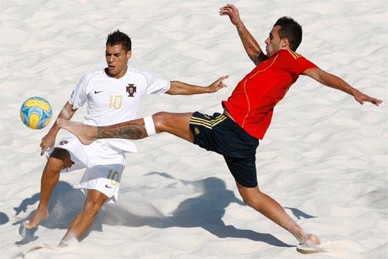 Deportes de playa II Ftbol playa  Entrenamiento