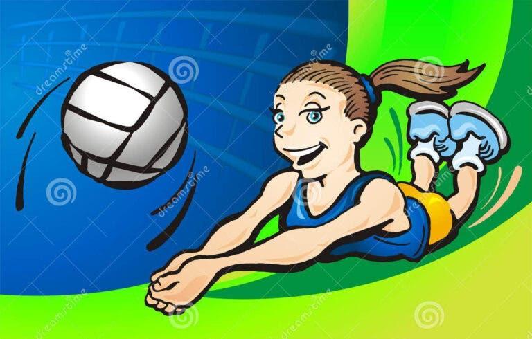 Dibujo voleibol