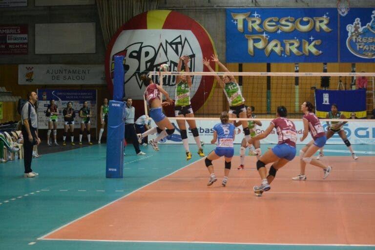 Jugada voleibol