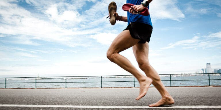 barefoot running riesgo ventaja