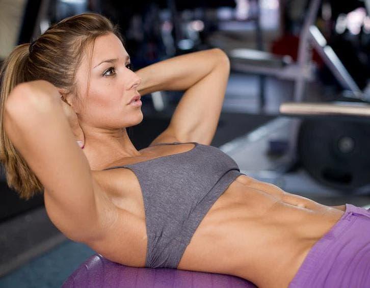 crunch abdominal yoga