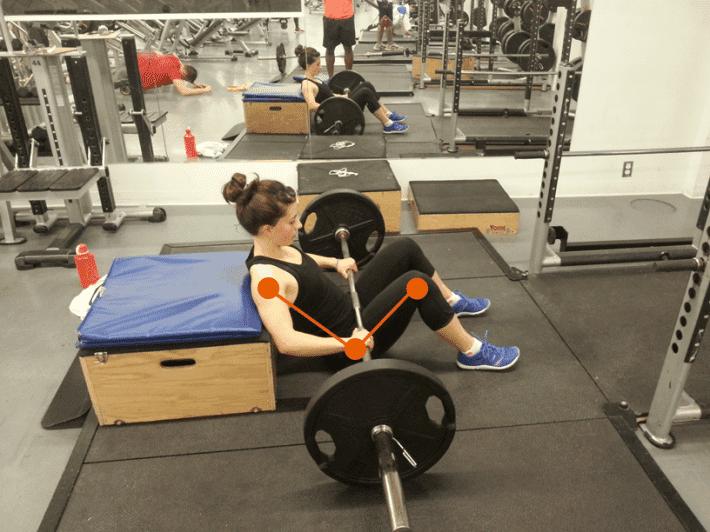 gluteos hip thrust entrenamiento