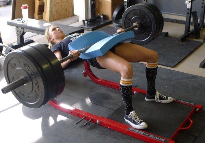 hip thrust entrenamiento gluteos