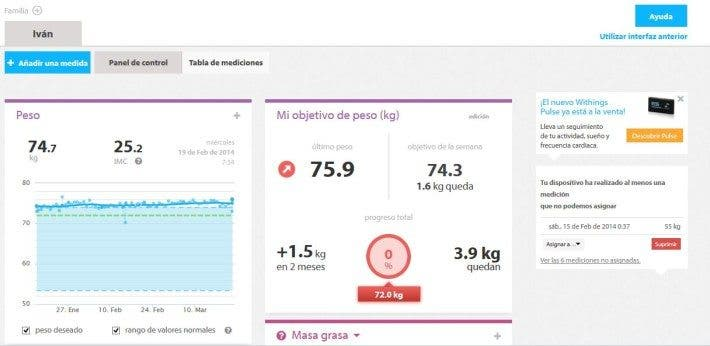 plataforma withings