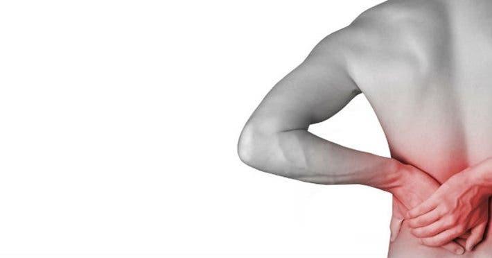 lesion en la espalda