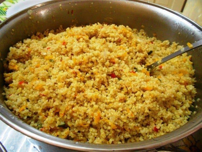 Beneficios de la quinoa entrenamiento for Cocinar 1 taza de quinoa