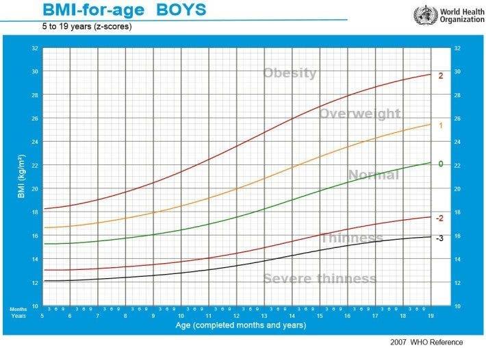 obesidad adolescentes bmi