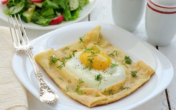 Desayuno con huevo