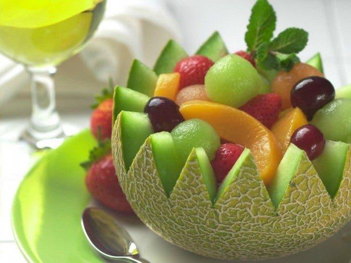 Ensalada de fruta para perder peso