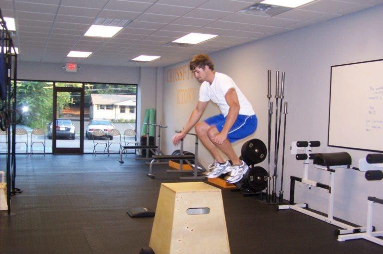 Box jumps: ejercicio crossfit para disfrutar