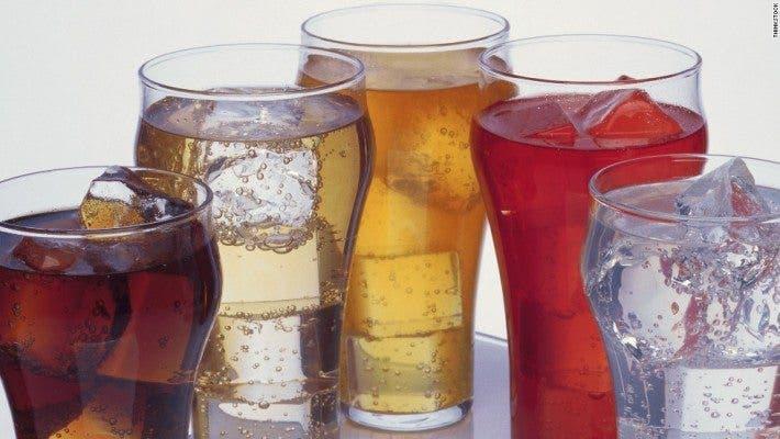 Bebidas con azúcares añadidos