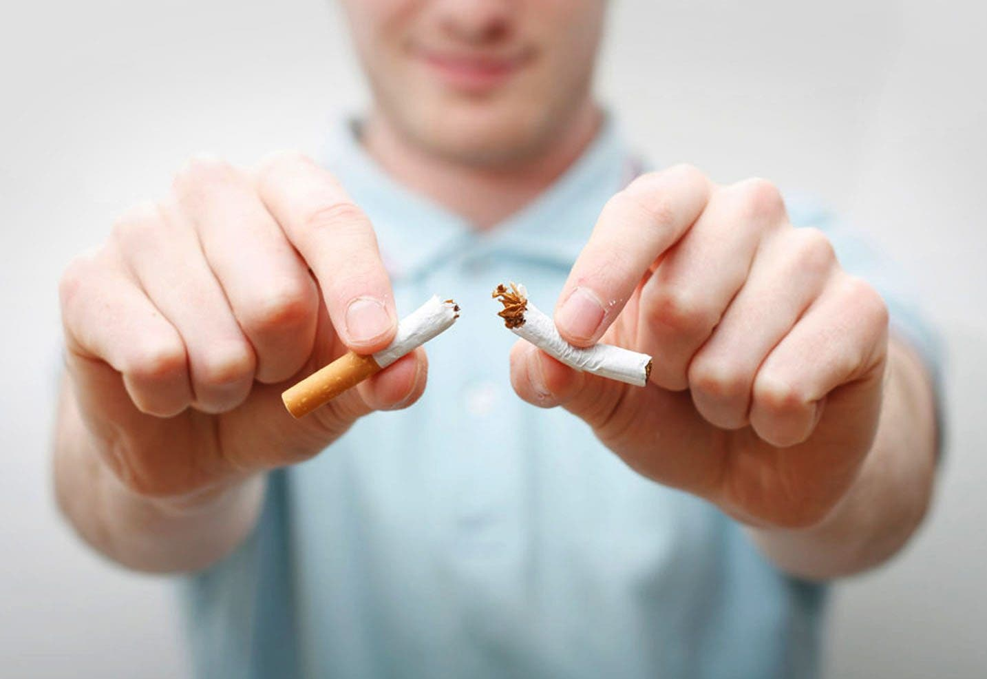 Como librarse del fumar de la hierba