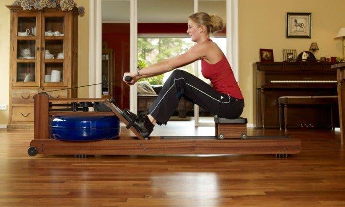 diy water resistance rowing machine