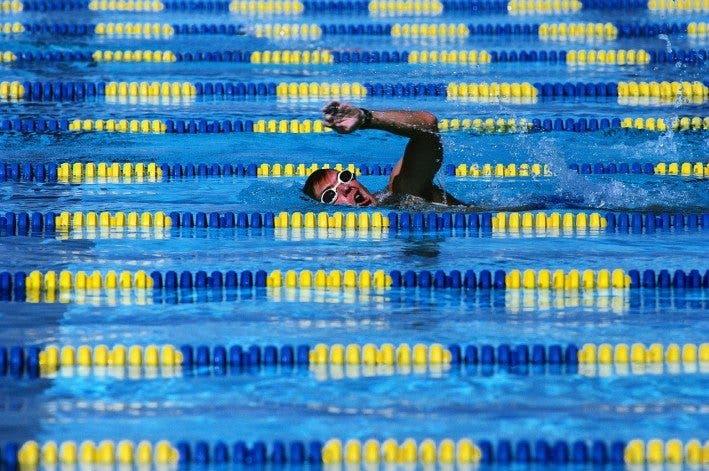 nadador principiante