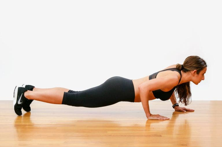 La manera más rápida de conseguir hacer más flexiones