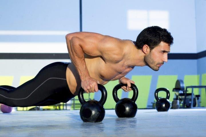 flexiones para triceps