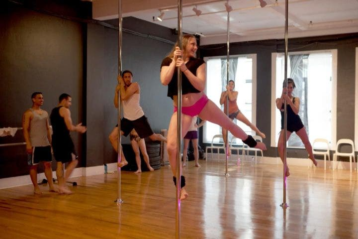 clases pole dancing