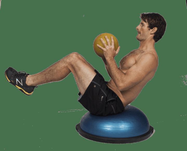 Gana fuerza en tu abdomen