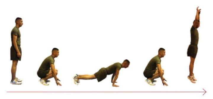 entrenamiento militar físico