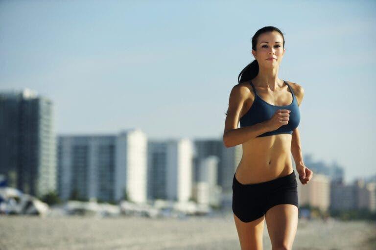 correr diez kilómetros