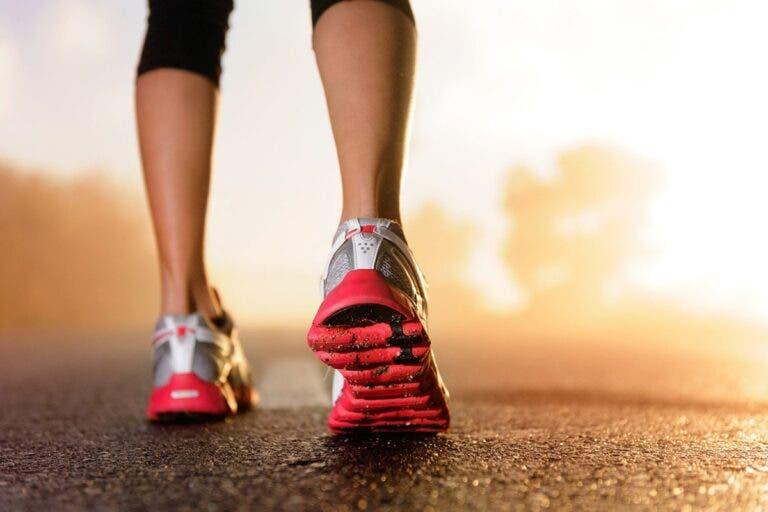 contracción muscular mientras corremos