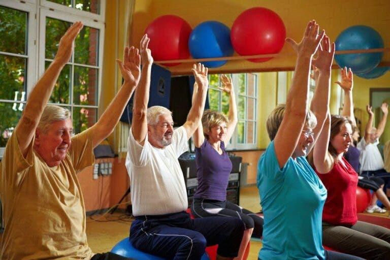 entrenamiento en personas mayores