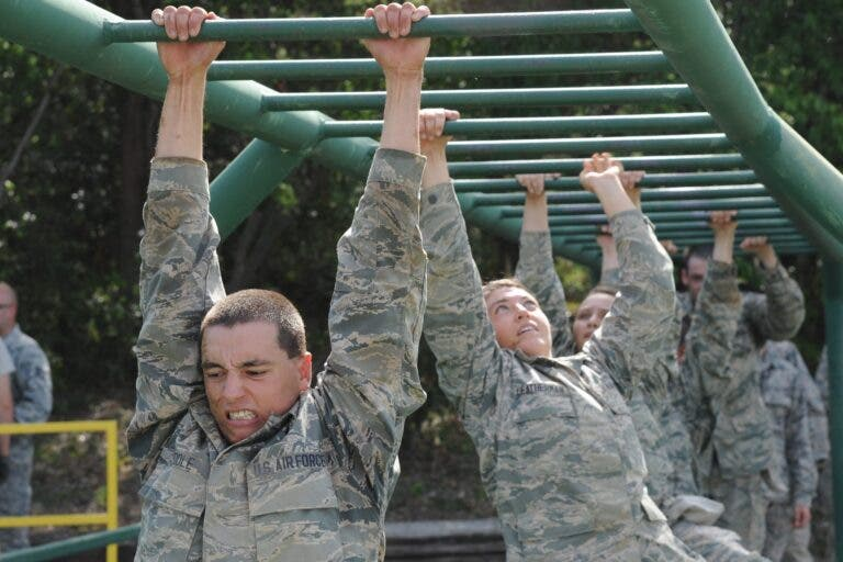 Entrena como un auténtico militar