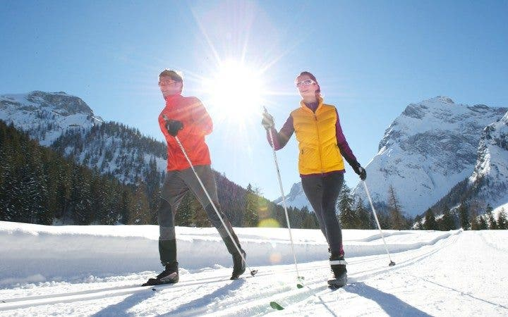 Beneficios el esquí de fondo