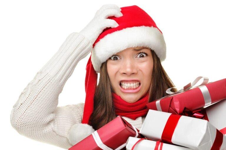 estrés navideño