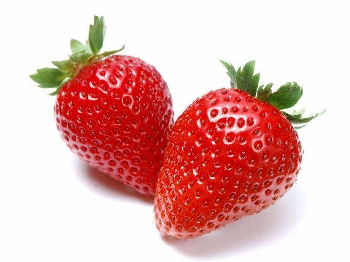 frutilla baja colesterol