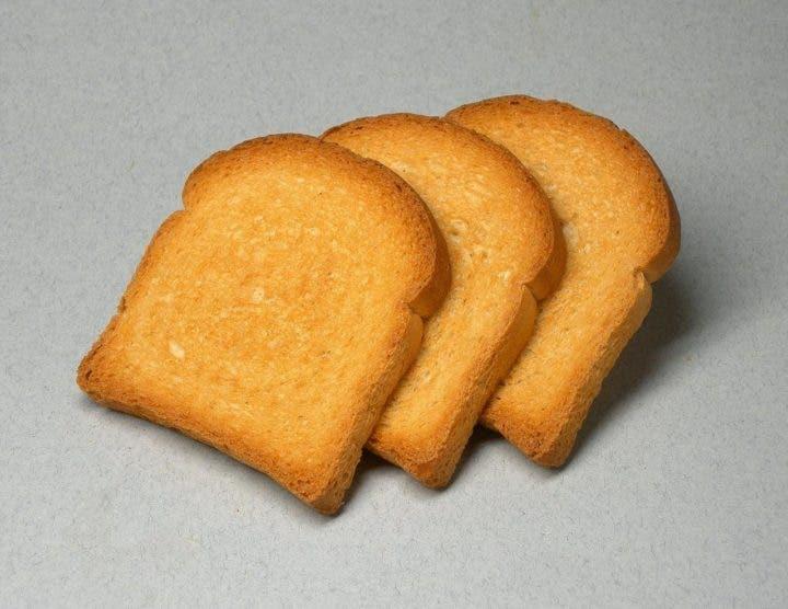 pan tostado para la diarrea