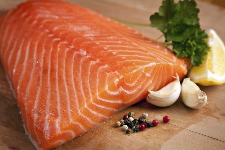 salmón sin colesterol