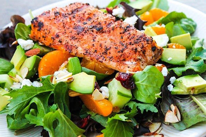 C mo cocinar el salm n correctamente entrenamiento for Cocinar salmon