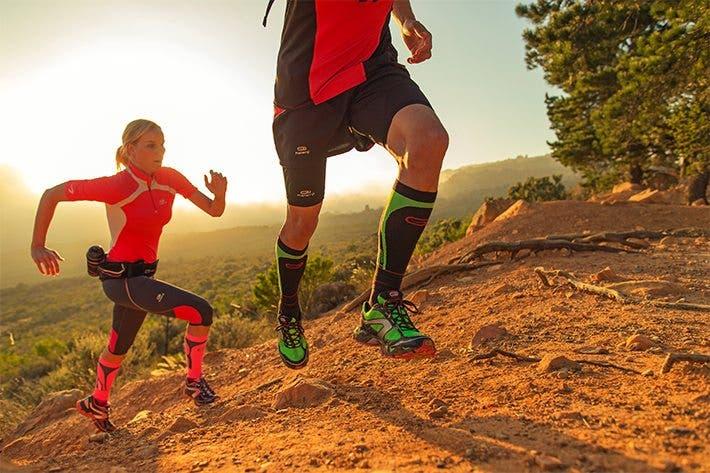 Subir colinas beneficios de correr