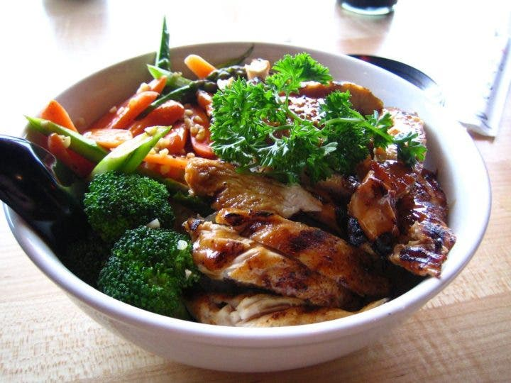 Pollo Teriyaky una receta sana y sabrosa
