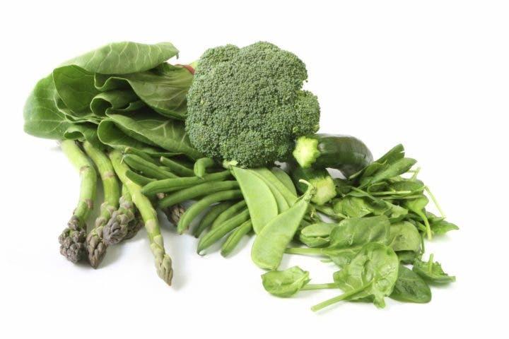 vegetales con hierro