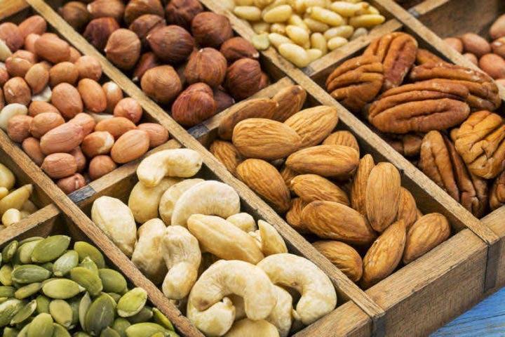 Consumir frutos secos