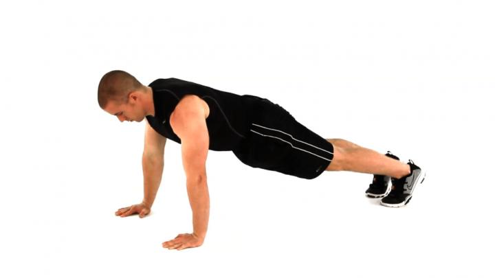 flexiones para CrossFit