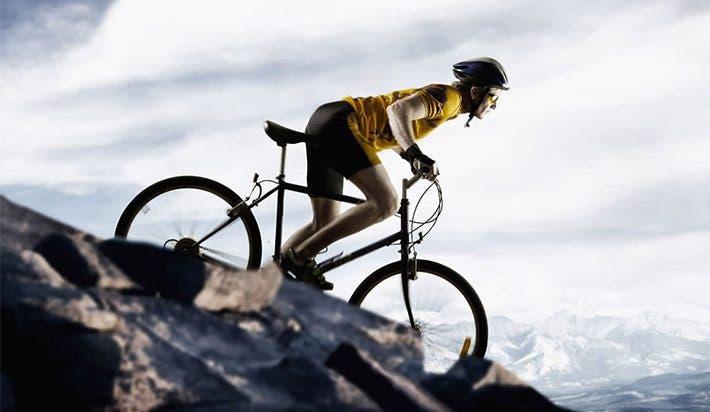 montar bicicleta y calorías quemadas