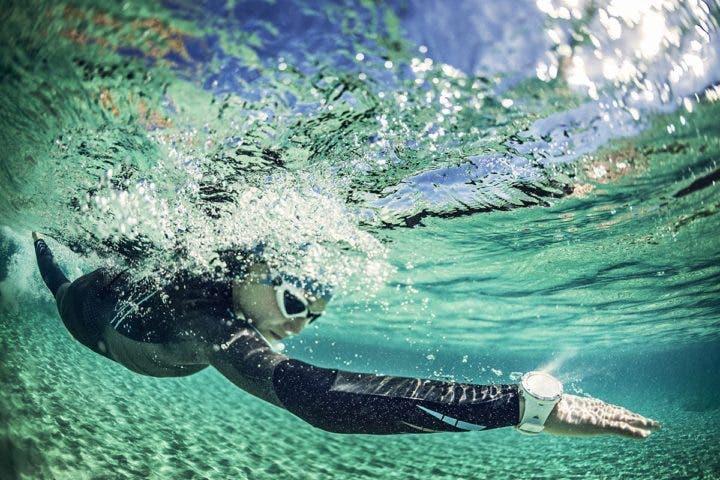 Suunto ambit3 bajo el agua