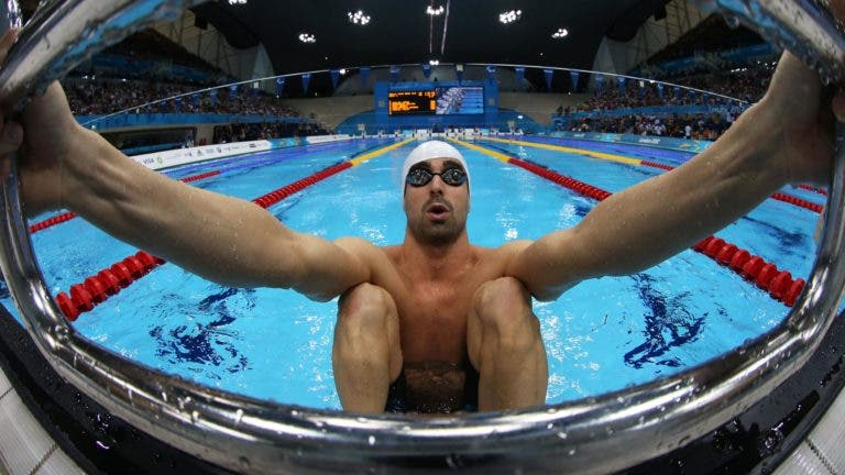 visualización en natación