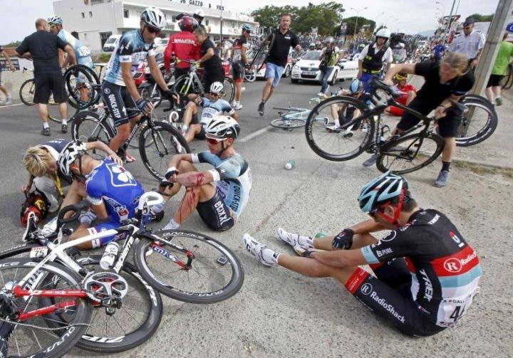Cómo actuar ante accidentes de bicicleta