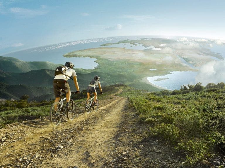 Manejar los descensos en bicicleta