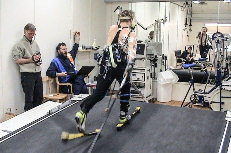 El suministro de energía en el esquí de fondo