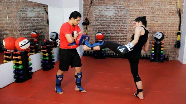 clases de kickboxing con entrenador personal